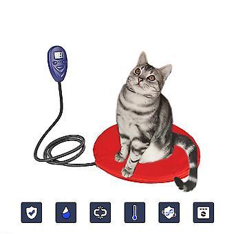 Le coussin chauffant pour chat est imperméable à l'eau et anti-morsure adapté à la couverture électrique à température constante