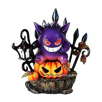 Venalisa Halloween Geng Ghost Resin Crafts Statue Jardin Décoration de cour Ornements