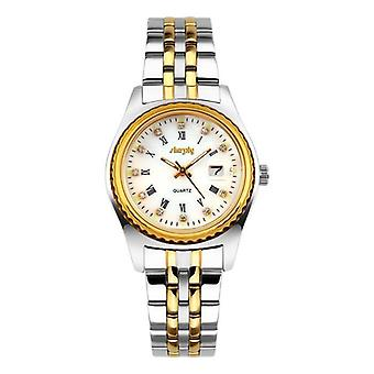 Women Stainless Steel Watch With Date Display
