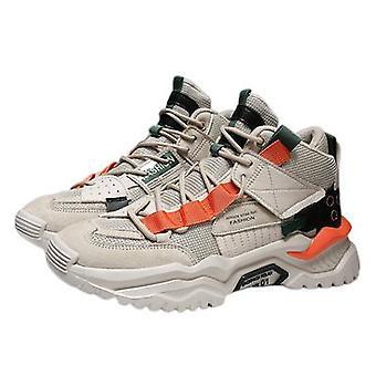 Nieuwe mannen oude schoenen all-match lederen sportschoenen