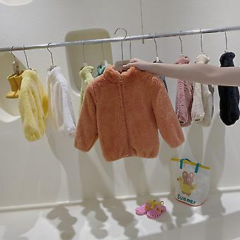 Autumn And Winter New Children's Lamb Plush Jacket Baby Jacket Warm Outer Wear Jacket Toddler Fall Clothes