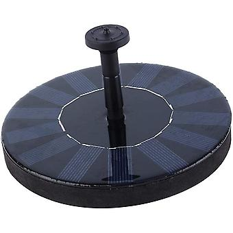 Solar Panel Fountain Pump Floating Garden Water Pond Bath Tank Outdoor Pool Water Fountain Panel Kit For Bird Bath,small Pond,garden And Lawn