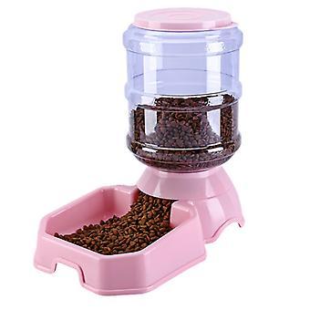 """מאכיל מזון אוטומטי של Waterer 3.8 ליטר מתקן מים 8 ק""""ג מאכיל פד כבידה"""