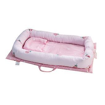 Silktaa قابلة للطي سرير المحمولة القطن النقي تنفس الطفل Recliner