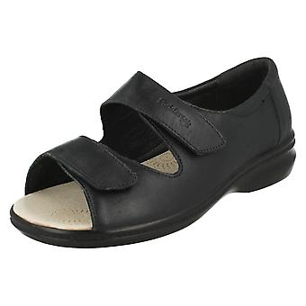 Ladies Padders Super Wide Fitting Strap Sandals Shore