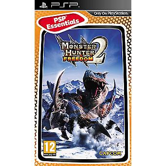 Monster Hunter Freedom 2 Essentials Edition Sony PSP spel