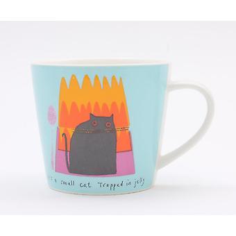 Jane Ormes Cat in Jelly Single Mug