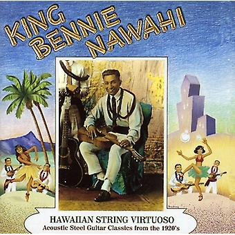 King Bennie Nawahi - Hawaiian String Virtuoso [CD] USA import