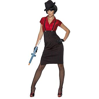 20s kostyme damer mafia gangster kone Lazurus mafia
