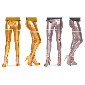 Säärystimet metallinen Naisten sukkahousut 80-luvulla
