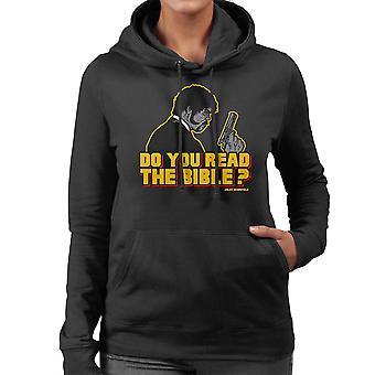De herder Jules Winnfield Pulp Fiction Women's Hooded Sweatshirt