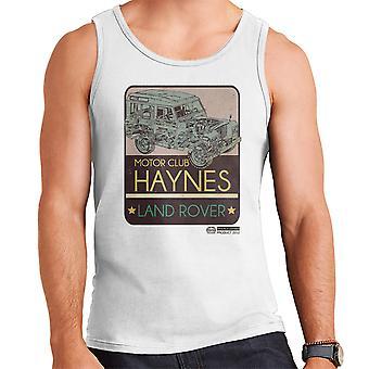 Haynes Motor Club Land Rover mannen Vest