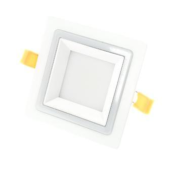 I LumoS 2in1 LED 24 Watt Square Pure & Warm White Recessed Ceiling Down Light