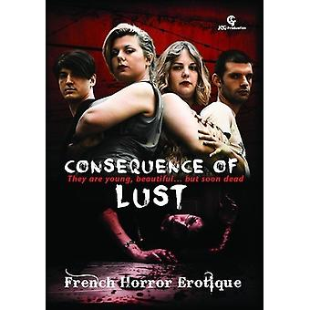 Consequence of Lust [DVD] USA import
