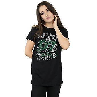 Harry Potter Women's Draco Malfoy Seeker Boyfriend Fit T-Shirt