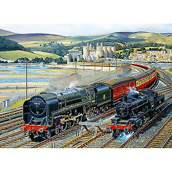 Gibsons Gateway To Snowdonia Jigsaw Puzzle (1000 Pieces)