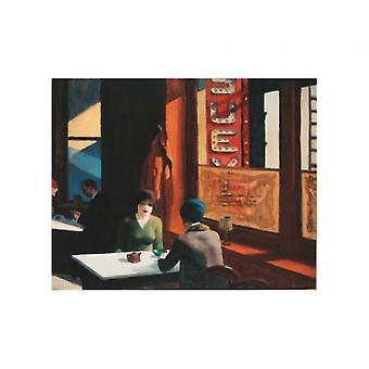 Chop Suey Poster Print von Edward Hopper (16 x 12)