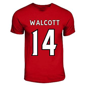 Theo Walcott Arsenal Hero T-shirt (rood)