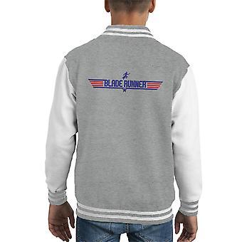 Blade Runner Top Gun Logo Kid's Varsity Jacket
