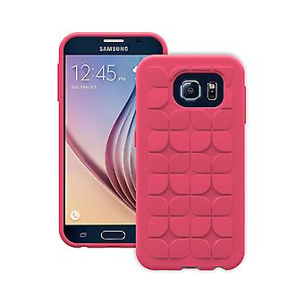 Trident Krios Case for Samsung Galaxy S6 - Petal Red