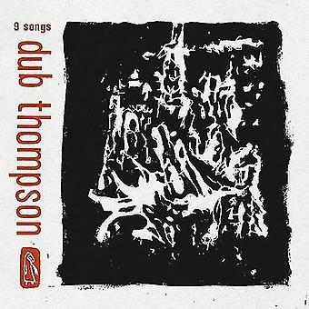 Dub Thompson - 9 chansons (vinyle noir translucide) [Vinyl] USA import