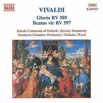 A. Vivaldi - Vivaldi: Gloria, Rv 589; Beatus Vir Rv 597 [CD] USA tuonti