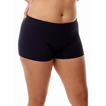Underworks Womens Cotton Spandex Boxers