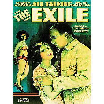 Das Exil Movie Poster Oscar Micheaux (1931)