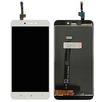 Bemutatás Teli LCD egység érint kímél elválaszt részére Xiaomi Redmi 4X 5,0 lassan mászik kijavít fehér új