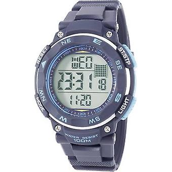 Quartz Wristwatch YP-11532-04 (Ø x H) 51 mm x 16 mm Blue Renkforce
