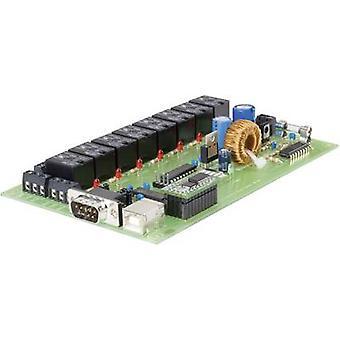 Conrad Components 197720 Relay card Component 12 V DC, 24 V DC