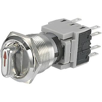 TRU COMPONENTS LAS1-BGQ-22X/31 Tamper-proof rotary switch 250 V AC 5 A Switch postions 2 1 x 90 ° 1 pc(s)