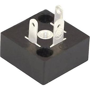 Hirschmann 933 117-100 GSSA 200 Inbouwstekker voor schroefdraadverbinding en omhullen. Aantal pins: 2 + PE