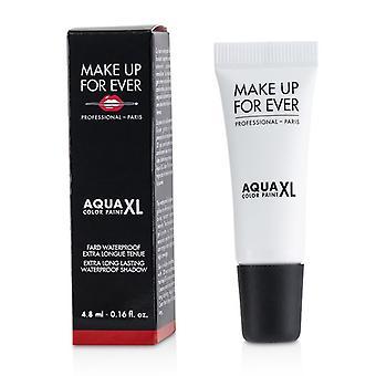 Make Up For Ever Aqua Xl Color Paint Waterproof Shadow - # M-16 Matte White - 4.8ml/0.16oz