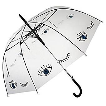 Straight Clear Umbrella (Blue eyes)