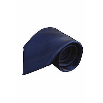 Blue silk tie V52