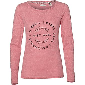 ONeill Freedom Long Sleeve T-Shirt in Hot Hot Pink