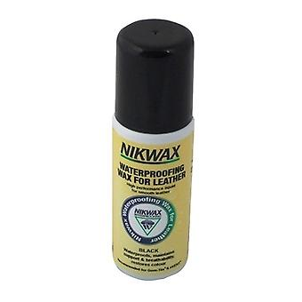 Nikwax Waterproofing Wax for Leather Liquid Aqueous Wax Black (125ml) - 125ml