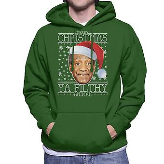 Merry Christmas Ya skitne dyr Bill Cosby menn er hette Sweatshirt