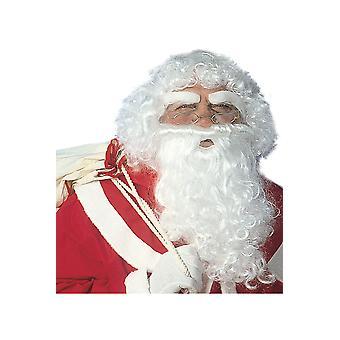 Perruques Deluxe Santa Claus Set