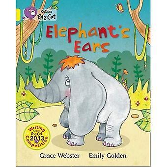 Big Cat Collins - oreilles d'éléphant: bande 03/jaune
