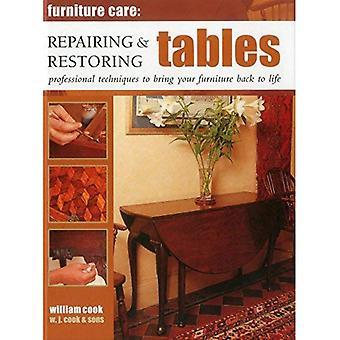 Möbler Care: Reparera & återställa tabeller
