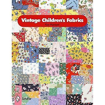 Tecidos vintage infantil