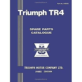 Catalogo parti di Triumph TR4 (catalogo ricambi ufficiale Triumph): Numero del pezzo 510978