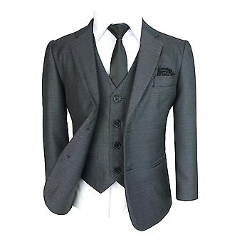 Boys All in One Tonic Grey All in One Suit Set