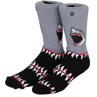 OddSox Mens Crew Knit Socks ~  Killer