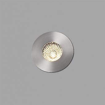 Faro - Grund Matt nikkel Medium førte udendørs forsænket gulv Spotlight FARO70728