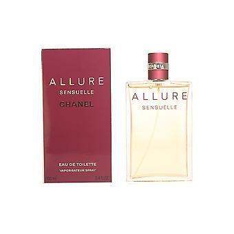 Chanel Allure Sensuelle Edt Spray 100 Ml naisten