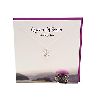Mary Queen of Scots Pendant Card by The Silver Studio