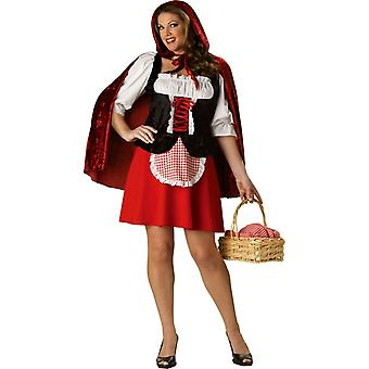 Red Riding Hood Plus Size Adult Costume
